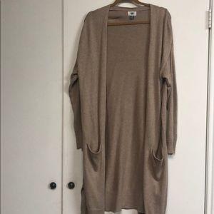 Oatmeal Duster Sweater